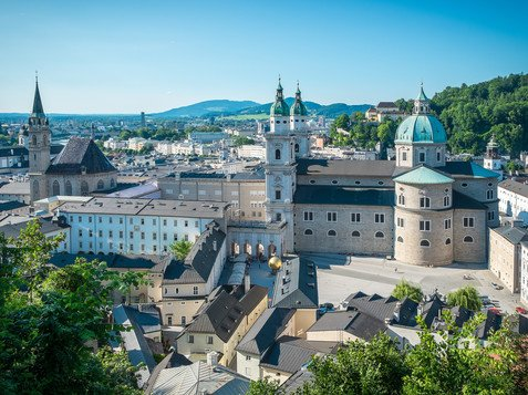 City Centre with Cathedral and Residence | © Tourismus Salzburg GmbH