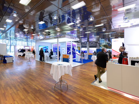 Ausstellungsfoyer | © CIRSE Congress Research Education GmbH
